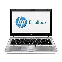 "HP EliteBook 8470P 14"" laptop PC - Intel Core i5-3320M 2.6GHz 4GB 320G HDD DVDRW (Renewed)"