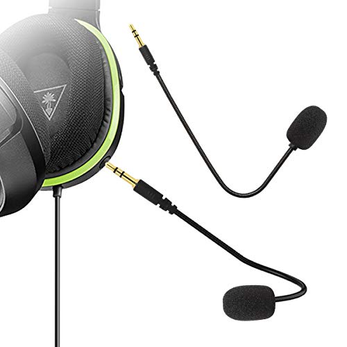 Limvoo Ersatz-Mikrofon, 3,5 mm Spielmikrofon, PDP Afterglow AG, 6 verkabelte Xbox One PS4 Gaming Headset, Turtle Beach Ear Force XO ONE Stealth 420X Recon 320 Z60 Turtle Beach Gaming Headset