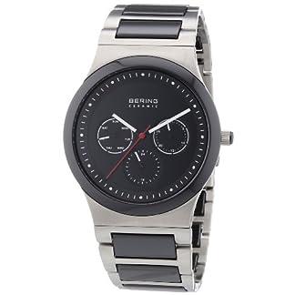 BERING Reloj Analógico para Hombre de Cuarzo con Correa en Acero Inoxidable 32139-702