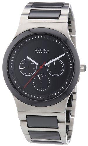 BERING Herren-Armbanduhr Analog Quarz Edelstahl 32139-702