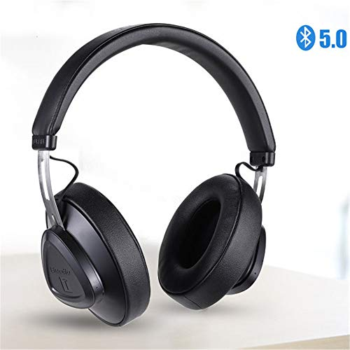 MCJL Drahtloses Bluetooth-Headset, Headset Stereo Sports Headset Retractable High Resolution Drive 3.5 Mm Retractable Headset