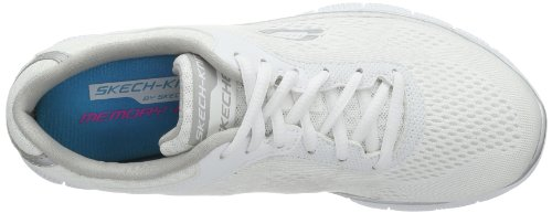Skechers Flex Appeal Love Your Style Damen Sneakers Weiß (WSL)
