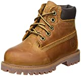 Timberland Authentics FTK 6 In WP Boot C80804, Jungen Schnürboots, Braun (Brown Smooth), 23 EU / 6 UK