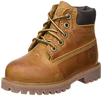 "Timberland Authentic 6"" Rust, Boots garçon Marron (Medium Rust) 39.5 EU"