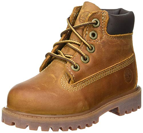 Timberland Authentics FTK 6 In WP Boot 80904, Unisex-Kinder Stiefel, Braun (Medium Brown Rust), EU 40 (US 7) - Boots 6 Jungen Timberland Größe
