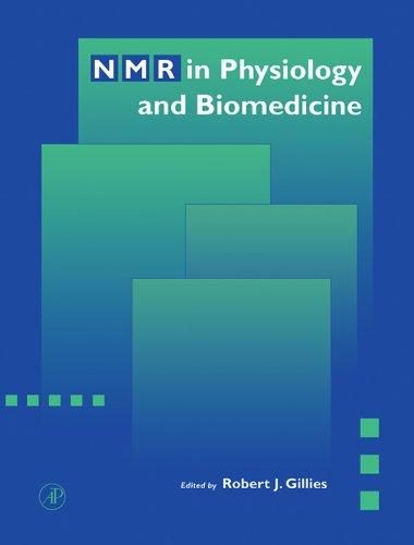 Nmr In Physiology And Biomedicine por Robert J. Gillies epub