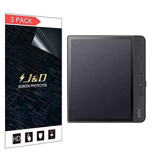 J&D Compatible pour 3-Pack Protection écran Kobo Forma 8 inch, [Anti-éblouissement] [Non Couverture Complète] Mat Protecteur d'Écran pour Kobo Forma 8 inch