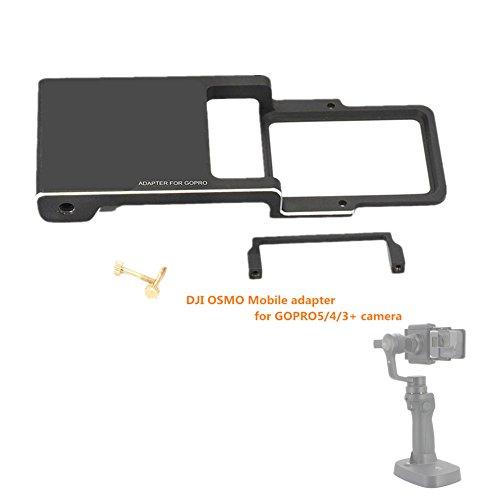 Preisvergleich Produktbild Hensych® DJI OSMO Mobile Adapter Mount Adapter Stecker für Kamera GOPRO5 / 4/3 +