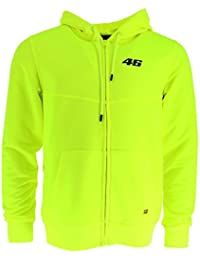 VR46 Sudadera con Capucha Oficial de Valentino Rossi Core Collection (Talla S), Color