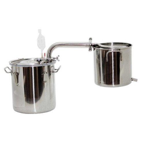 20~70 litros destilador de agua acero inoxidable/cobre aceites esenciales alambique destilador de columna