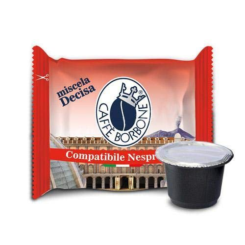 50 Respresso - Comp. Nespresso - Mischung Decisa - Caffè Borbone