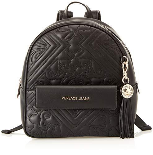 Versace Jeans Ee1vsbbz7, Zaino Donna, Nero, 13x20x31 cm (W x H x L)