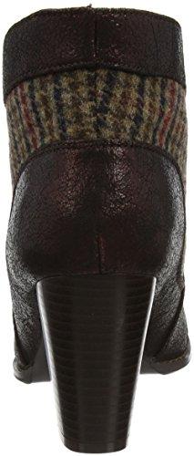 Joe Browns Ultimate Tweedy Ankle Boots, Bottes Femme Purple (Plum Multi)