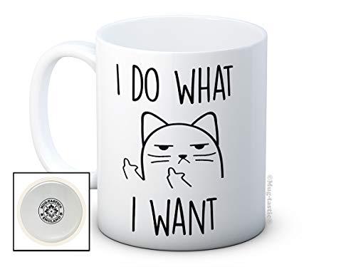 I Do What I Want - Chat impoli - haute qualité café thé tasse