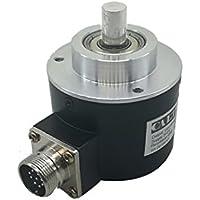 58 mm exterior 10 mm sólido eje de salida de empuje óptico aumento Rotary codificador