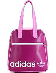 adidas Adicolor Bowling Bag Tasche vivid pink-white - NS