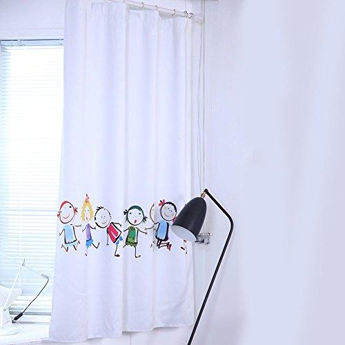 Cortinas opacas, diseño dibujos animados niños