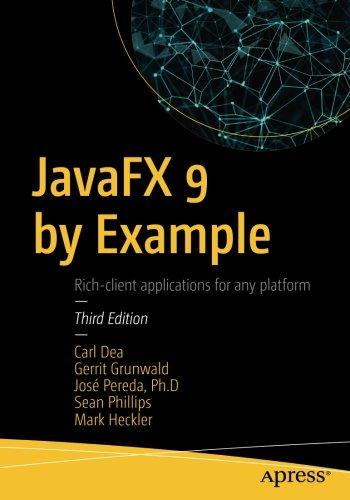 Preisvergleich Produktbild JavaFX 9 by Example