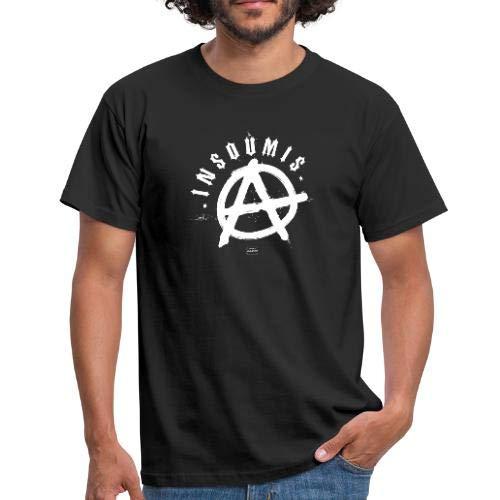 Insoumis Symbole De L'Anarchisme en Graffiti T-Shirt Homme