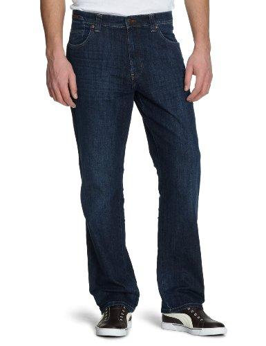 Wrangler, Jeans Homme Bleu