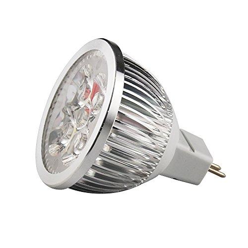 Jambo 10x MR16Cool White 6W LED CE RoHS lampadina faretti lampade per illuminazione Modern Kitchen (Acquario Light Fixtures)