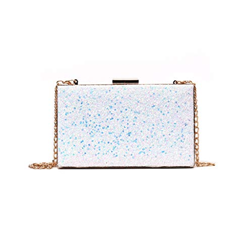 Mitlfuny handbemalte Ledertasche, Schultertasche, Geschenk, Handgefertigte Tasche,Frauen-modische Pailletten-Metallquadrat-Umhängetaschen-Damen-luxuriöse Partei-Handtaschen - Gucci Coral