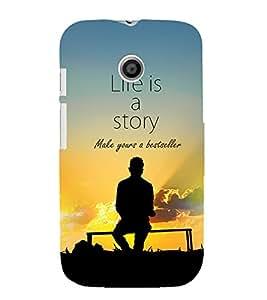 ifasho Designer Phone Back Case Cover Motorola Moto E :: Motorola Moto E XT1021 :: Motorola Moto E Dual SIM :: Motorola Moto E Dual SIM XT1022 :: Motorola Moto E Dual TV XT1025 ( Brain Peace Bulb )