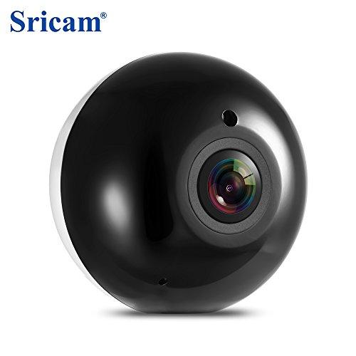 Sricam SP022 HD 960P Wireless WiFi IP Indoor Sicherheit Kamera 360-Grad Panorama/IR Nachtsicht/P2P/Bewegungserkennung