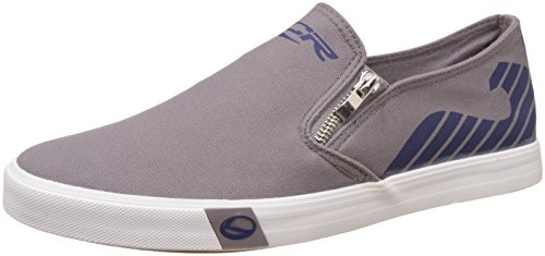 Lancer Men's Dark Grey and Navy Sneakers - 10 UK/India (44 EU)(YSM-WL-908)  available at amazon for Rs.699