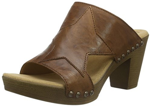 Gabor Shoes 23.804 Damen Clogs ,Braun (Copper 04) ,38 EU