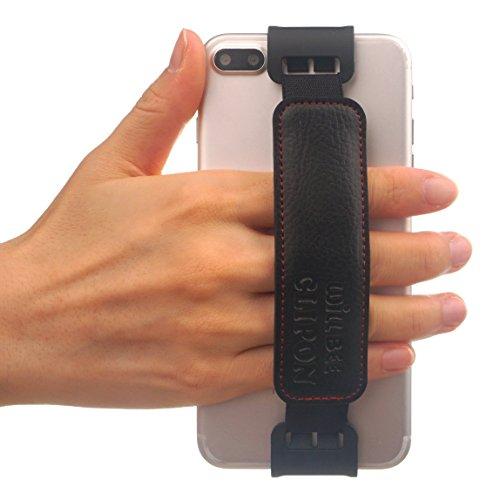 Preisvergleich Produktbild WiLLBee CLIPON 2 für Groß Smartphone (Smartphone Größe : 6~6.5 Zoll) Elastisches Halteband Hand Griffgefühl hülle Halter für Handys - iPhone 8 Plus/iPhone 7 Plus/iPhone 6S Plus/iPhone 6 Plus