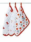 aden + anais Splish Splash Muslin Washcloths (3-Pack)