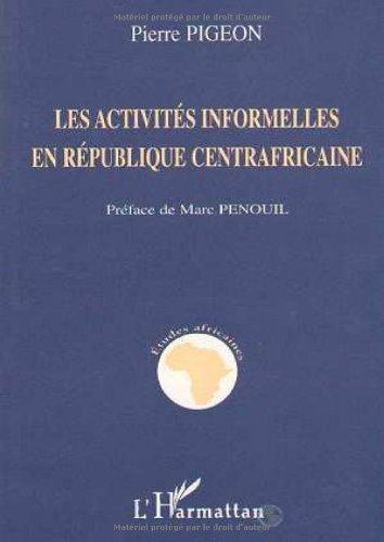 Les activités informelles en République centrafricaine