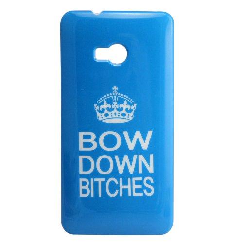 thematys HTC ONE M7 BOW DOWN BITCHES BEYONCE hard Design Handy Schutz-Hülle Case Tasche Cover