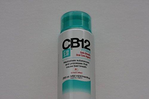 CB12 250ML 2 PACK MILD MINT Safe Breath Oral Care