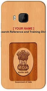 "Let's Speak your ID in unique way with "" Your Name "" Printed on your Motorola Moto G-3 ( 3rd Gen ) Mobile back cover with your Dept: Research Reference and Training Division"