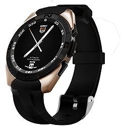 Para hombre Smart resistente al agua de relojes, batería incorporada/MP3función/sleep vigilancia Digital reloj con cronómetro, oro Smart Bluetooth reloj