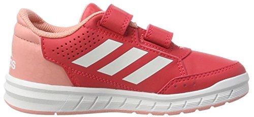 adidas Altasport, Chaussures de Gymnastique Fille Rose (Core Pink/footwear White/still Breeze)