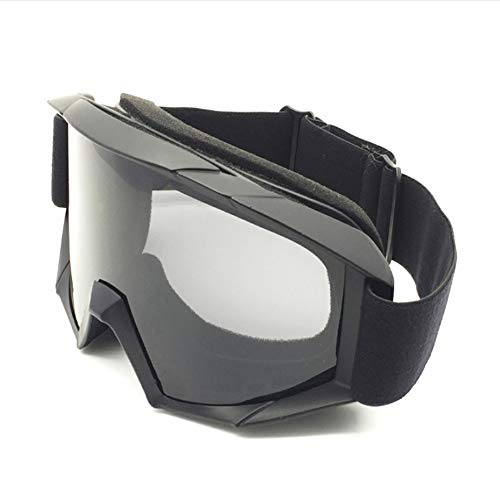Q&N Schutzbrille, abnehmbare Augenschutzvorrichtung, Motocross-Schutzbrille, 5 Farben, optionale Schutzbrille, Wind- und Staubmaske