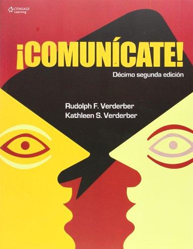Descargar Libro ¡Comunícate! de Rudolph Verderber