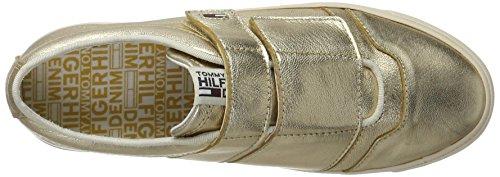 Hilfiger Denim N1385ice 6z1, Scarpe da Ginnastica Basse Donna Oro (Antique Gold)