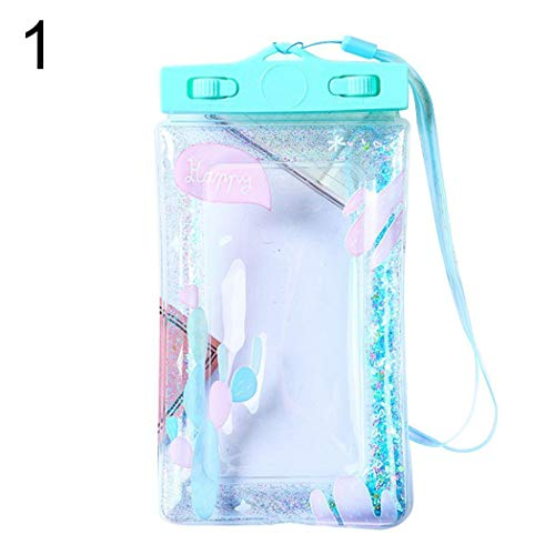 scottpown Strand Tauchen PVC transparent versiegelt Handy wasserdichte Tasche Taschen & Schalen