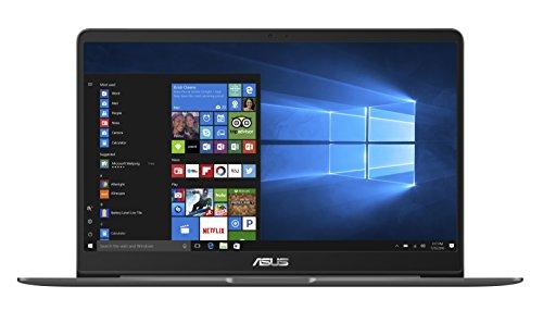 Asus Zenbook UX530UX-FY021T 39,6 cm (15,6 Zoll FHD matt) Ultrabook (Intel Core i7-7500U, 8GB RAM, 256GB, NVIDIA GTX 950M, Win 10) grau
