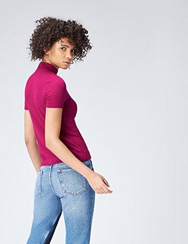 FIND Damen T-Shirt Magenta