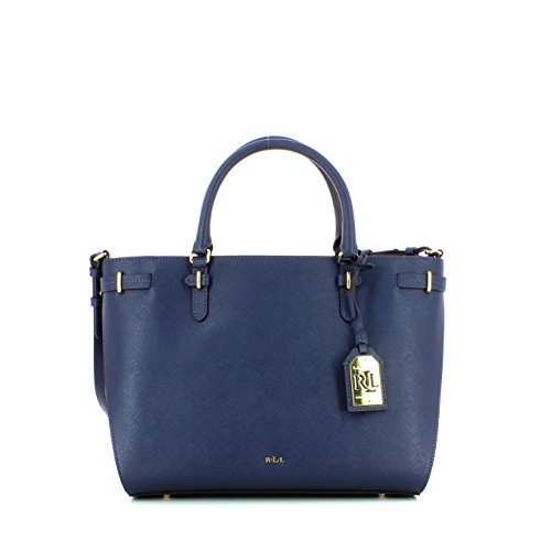 Ralph Lauren Nikki Satchel, sac à main Blue
