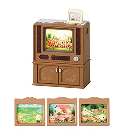 Sylvanian Families Living TV over -516 (japan import)