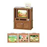 Sylvanian Families Living TV over -516 (japan import)