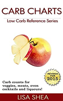 Carb Charts - Low Carb Reference by [Shea, Lisa]