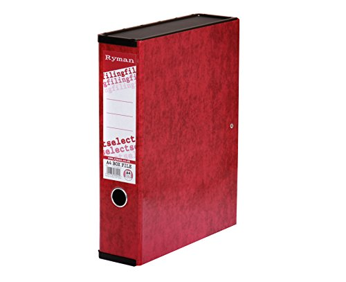 ryman-select-box-file-a4-red-color-red