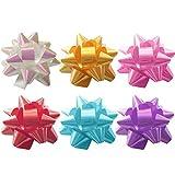 Healifty 70PCS 5,1cm in Scatola PVC Star Lace Nastro da pacchi Regalo Decorazione (Colore Misto)